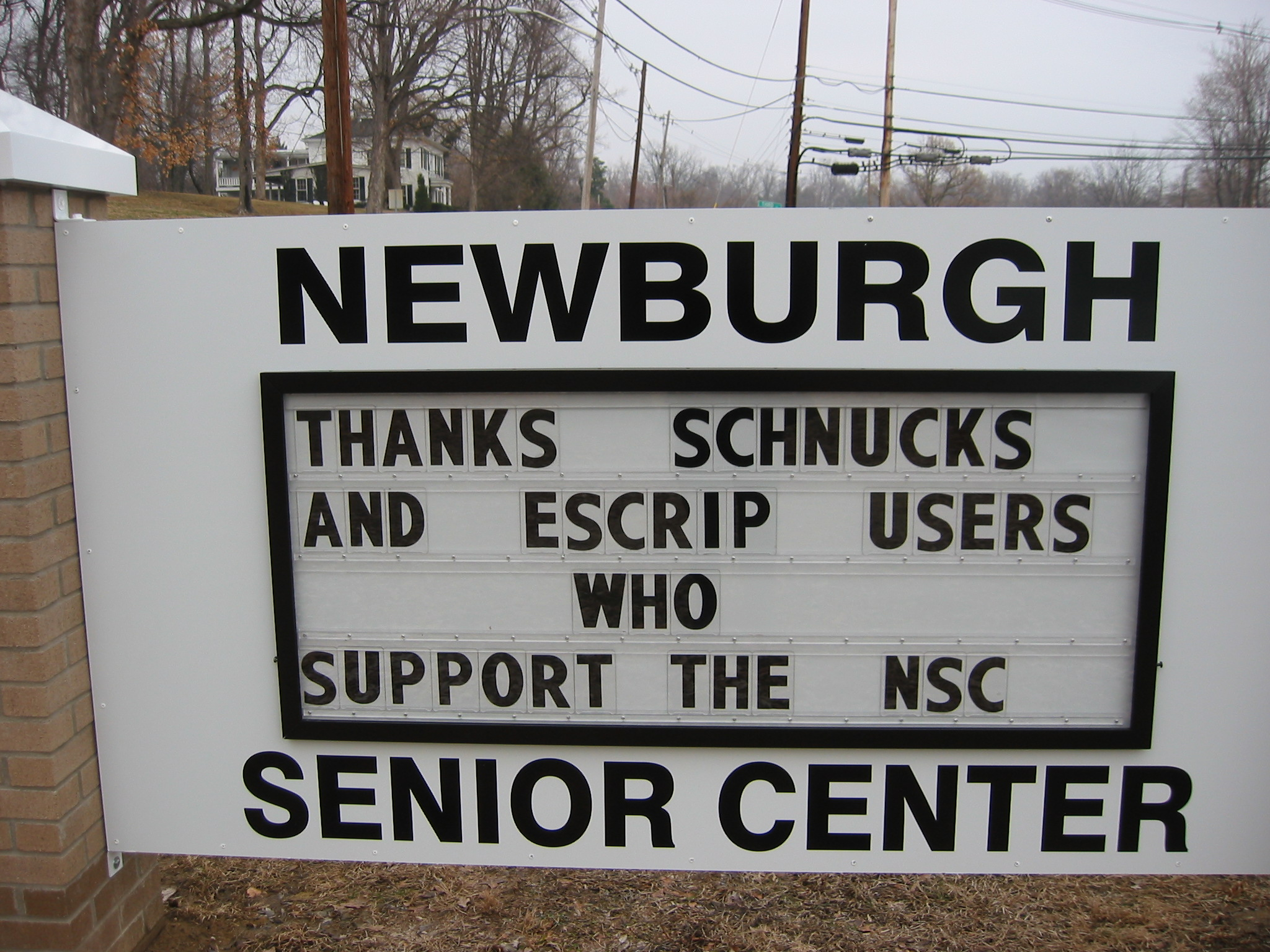schnucks gift card schnucks escrip card newburgh senior center 795